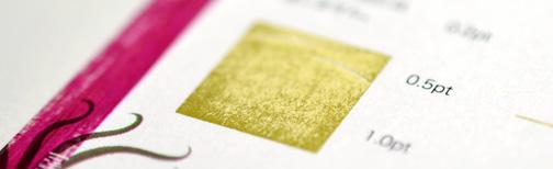 面積の広いベタ面印刷の例