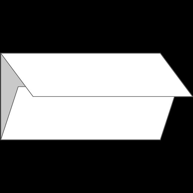 三つ折り|縦型|巻き折り