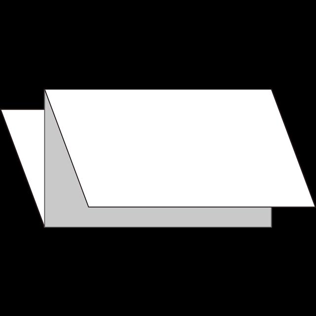 三つ折り|縦型|Z折り