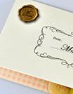 ライオン名刺のhutatu二つ折り名刺・カード