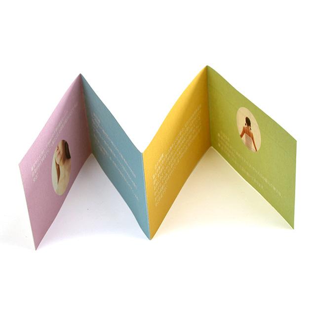 四つ折り名刺|縦型(ジャバラ折り2)