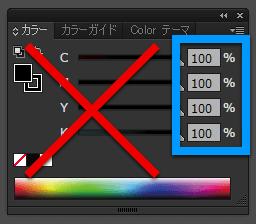 4色ベタについての説明
